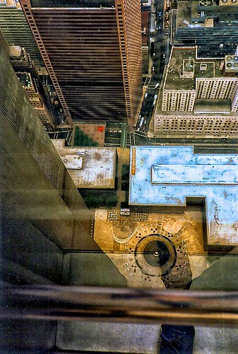 World Trade Center looking down to Plaza