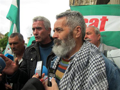Sánchez Gordillo se ha negado declarar ante el juez. EUROPAPRESS
