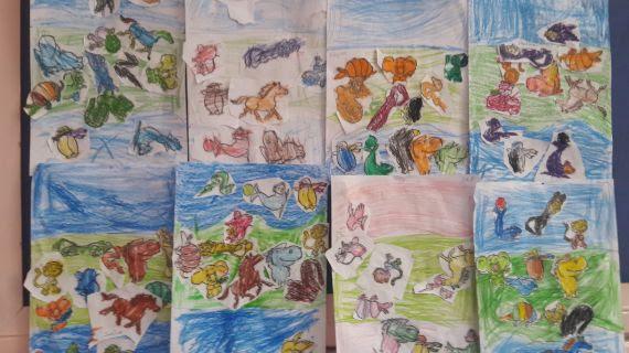 Karada Havada Ve Denizde Yaşayan Hayvanlar Eğitim Bilişim Ağı