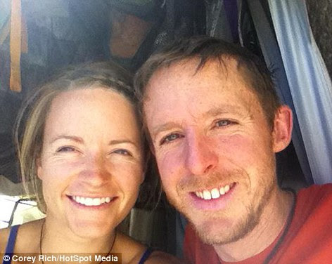 The couple are professional climbers, and ecause of their experience, this sort of climb, with it's treacherous conditions and weather, second nature