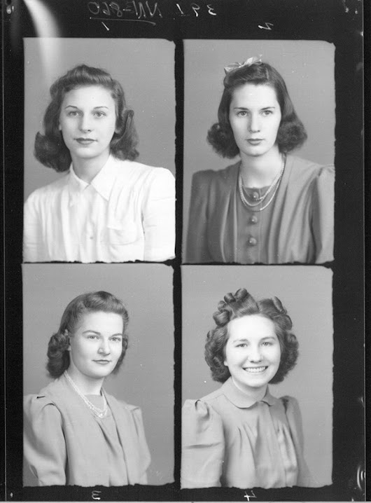 Vintage Yearbook Photos: Class of 1941