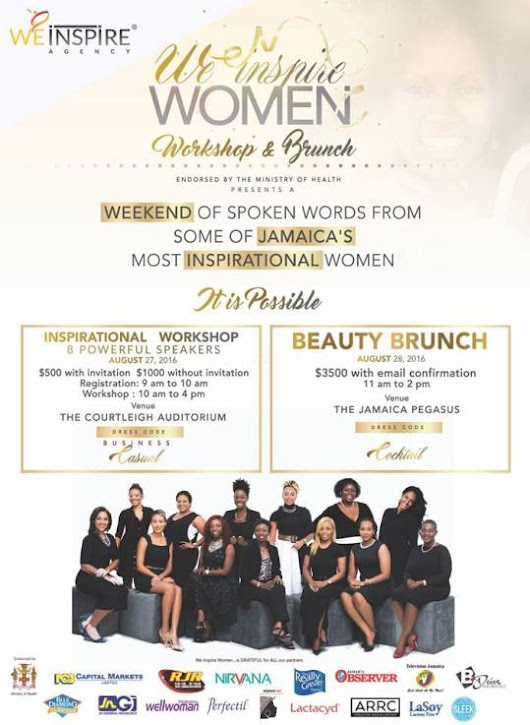 We Inspire Women Weekend: The Workshop