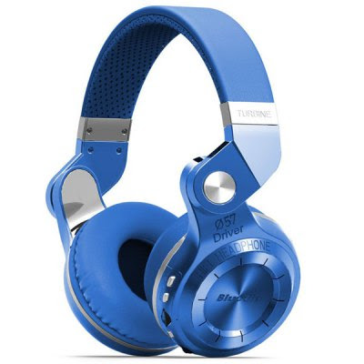 Bluedio T2+ Wireless Bluetooth V4.1 Stereo Headphone Headset Support TF Card FM Function