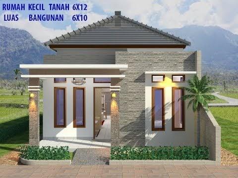 desain rumah minimalis ukuran 6x10 : gambar desain rumah