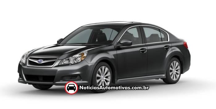 subaru apresenta a nova geracao no legacy 2010 1 Subaru: Legacy e Outback convocados pela CAOA