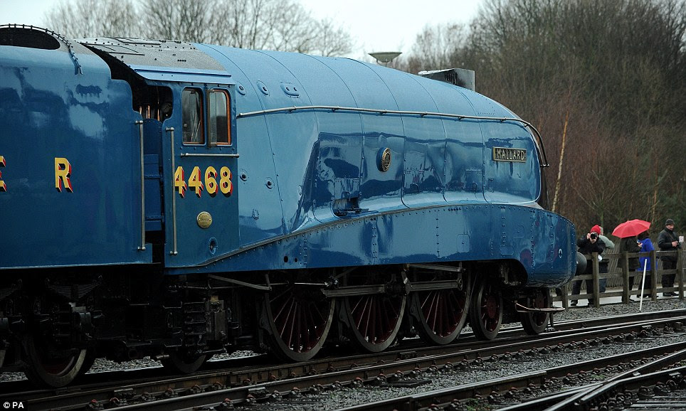 Flyer: Just over 75 years ago the Mallard hurtled down the East Coast Main Line at 126mph, a record that has never been broken