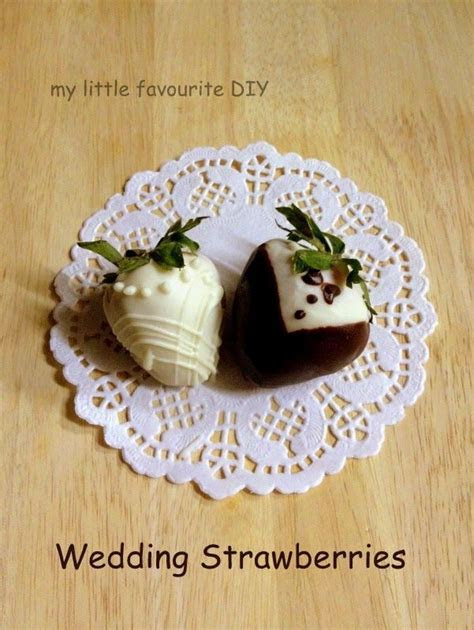my little favourite DIY: Tuxedo and Wedding Gown Chocolate