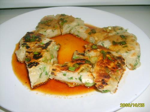 Sesame-Cilantro Scallion Pancakes