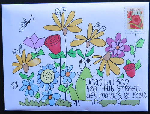 Mail art to Jean