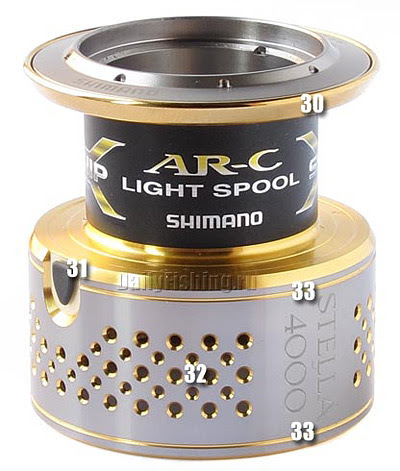 shimano 10 stella spool