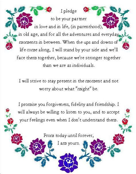 Pin by Blue Sky Elopements on Wedding Vows and Readings in