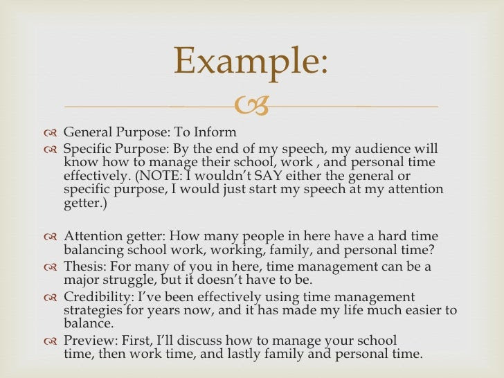 how to write an essay about your self speech