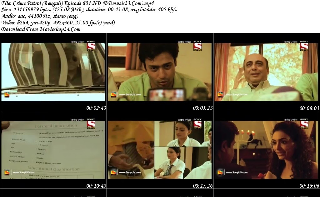 Crime Patrol Bengali Episode 601 HD Download BDmusic23 com - Cartoon