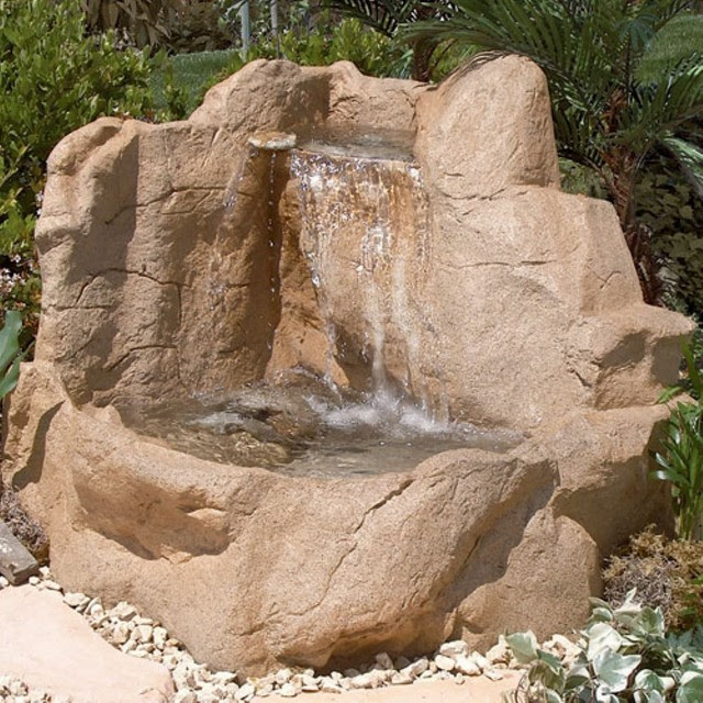 Summit Falls Water Fountain - traditional - outdoor fountains - by ...