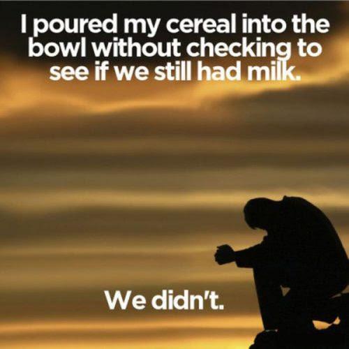 milk shortage 25 Pictures of The Most Comfortably Uncomfortable First World Problems