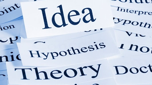 Science Thoughts: theory vs hypothesis #scifi #authorsofscifi
