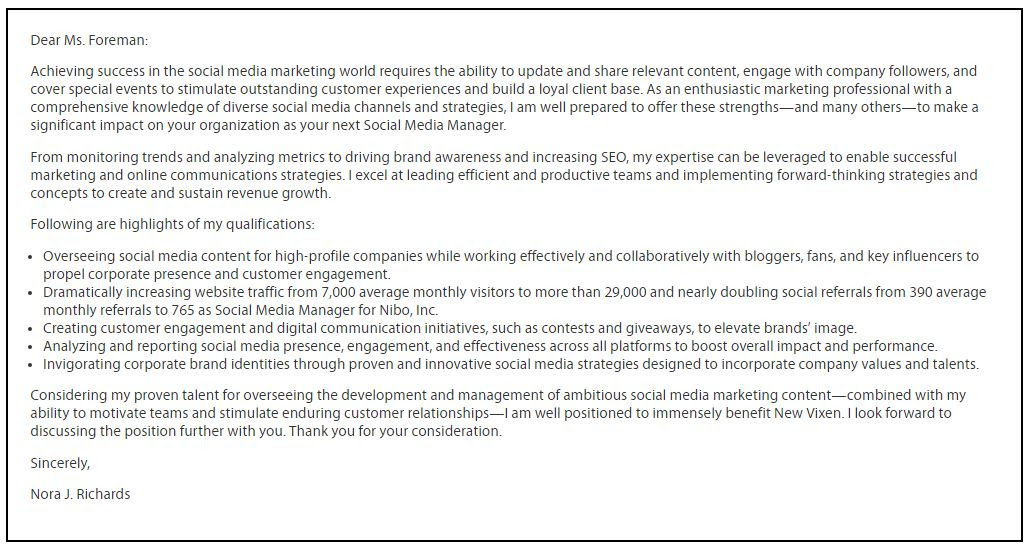 Social Media Cover Letter from lh3.googleusercontent.com