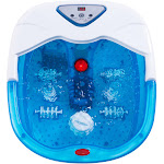 Gymax Electrical Foot Basin Tub Point Massage Home Use Health Heating Infrared Ray