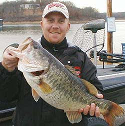 Jay Fuller of Kingston Oklahoma qualifies for the 2008 Bassmaster Classic