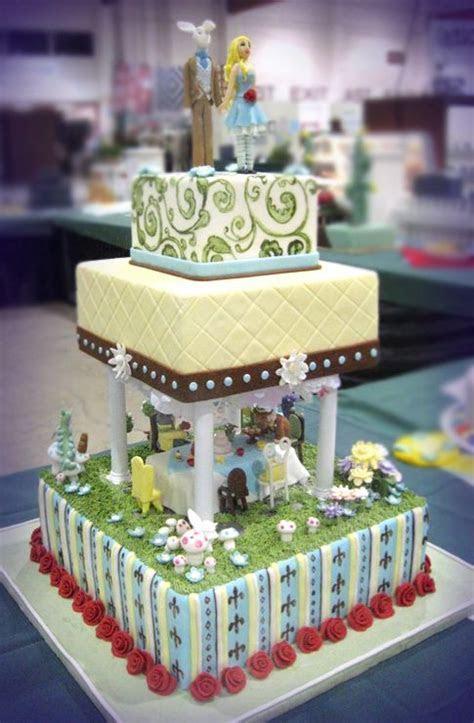 Alice in Wonderland cake   Wedding: Cakes   Pinterest