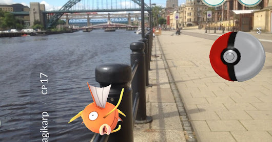 What is Pokémon Go and where can I catch them all in Newcastle?