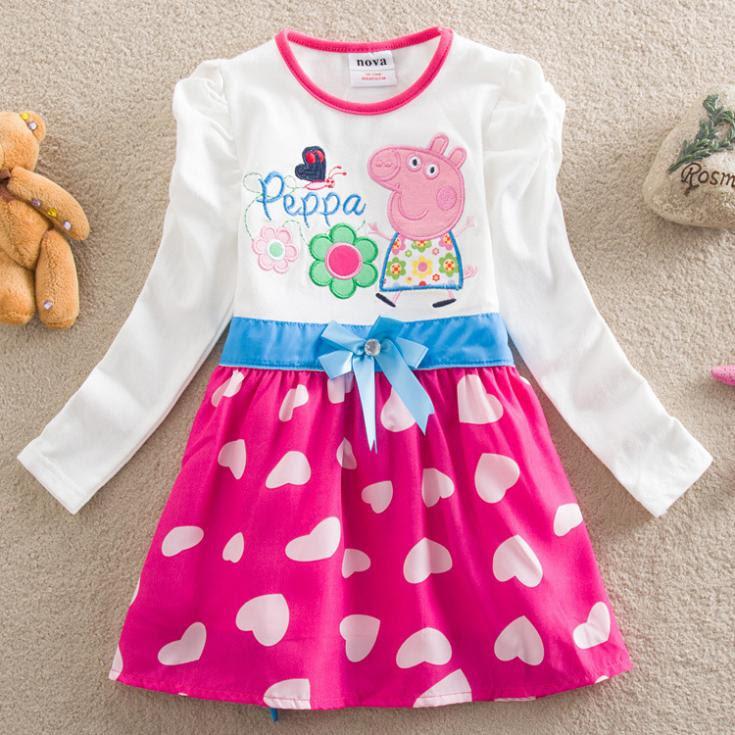 retail sale neck summer dress flower girl fashion
