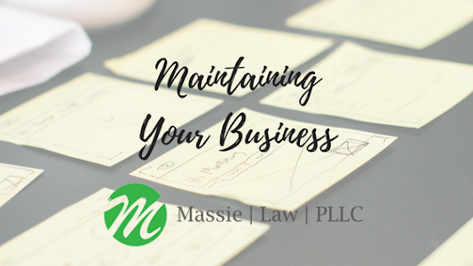 Maintaining Your Business