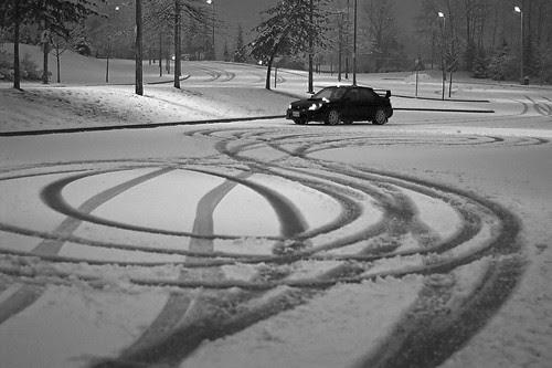 Surprise, snow!