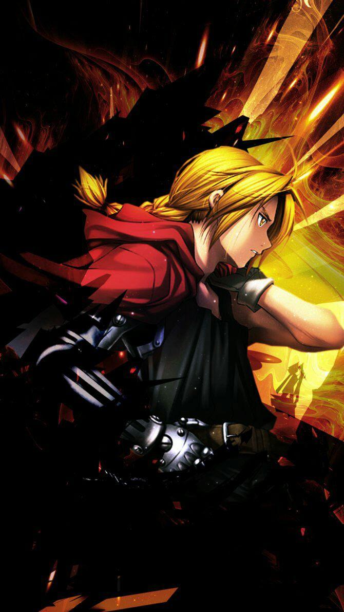 Edward Elric wallpaper. [1080x1920] : AnimePhoneWallpapers