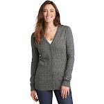 Port Authority Ladies Marled Cardigan Sweater. LSW415