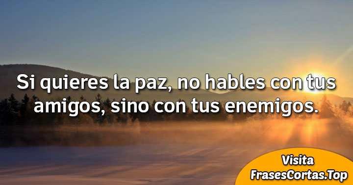 Mensajes Y Frases De Paz Cortas Bonitas De Amor Y Para Ninos