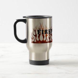 Tribal FF Flames mug
