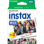 Fujifilm - instax Wide Instant Film Twin Pack - White