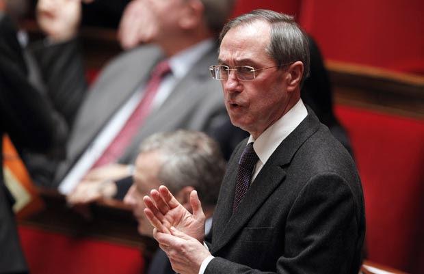 Ministro do Interior da França, Claude Guéant. (Foto: Patrick Kovarik/AFP)