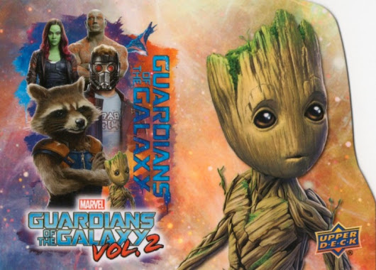 Upper Deck Guardians of the Galaxy Vol. 2 Promo Checklist, Set Info