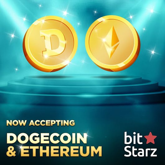 BITSTARZ ADDS ETHEREUM (ETH) AND DOGECOIN (DOGE) SUPPORT! – GamblingBitcoin.com