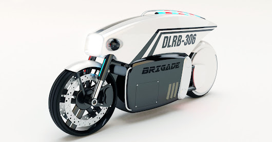 If KITT Worked as a Meter Maid, It'd Be This Driverless Motorcycle