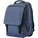 "Samsonite - Modern Utility Backpack for 15.6"" Laptop - Blue Chambray"