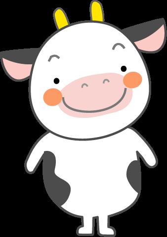 うし牛のイラスト無料イラストフリー素材