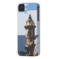 El Morro Fort in Puerto Rico iPhone 4 Case-Mate Case
