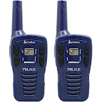 Cobra Hero Series Special Forces 16-mile Two-way Radio Pair - Blue - FRS/GMRS