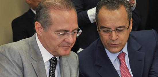 Renan Calheiros e Henrique Alves