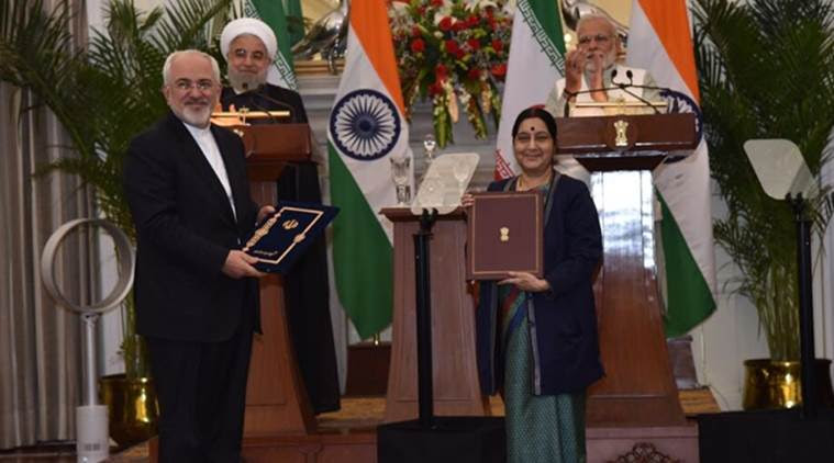 India-Iran ink nine pacts, PM Modi appriciates President Rouhani leadership
