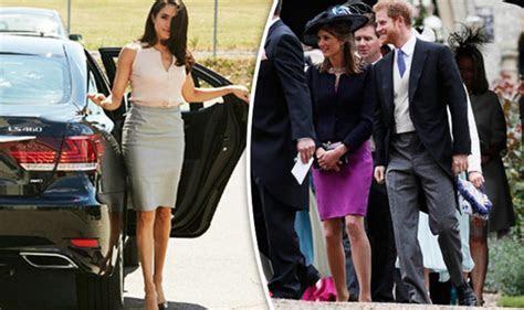 Pippa Middleton wedding   Meghan Markle fans wait for