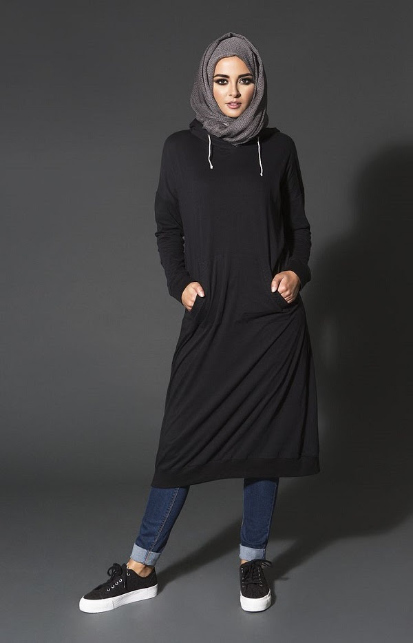 Latest Trends of Casual Wear Hijab Styles with Jeans 2016-2017 (16)