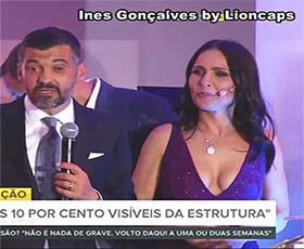 Ines Gonçalves a sensual jornalista da Rtp
