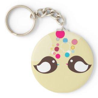 Sweet Bird Keychain keychain