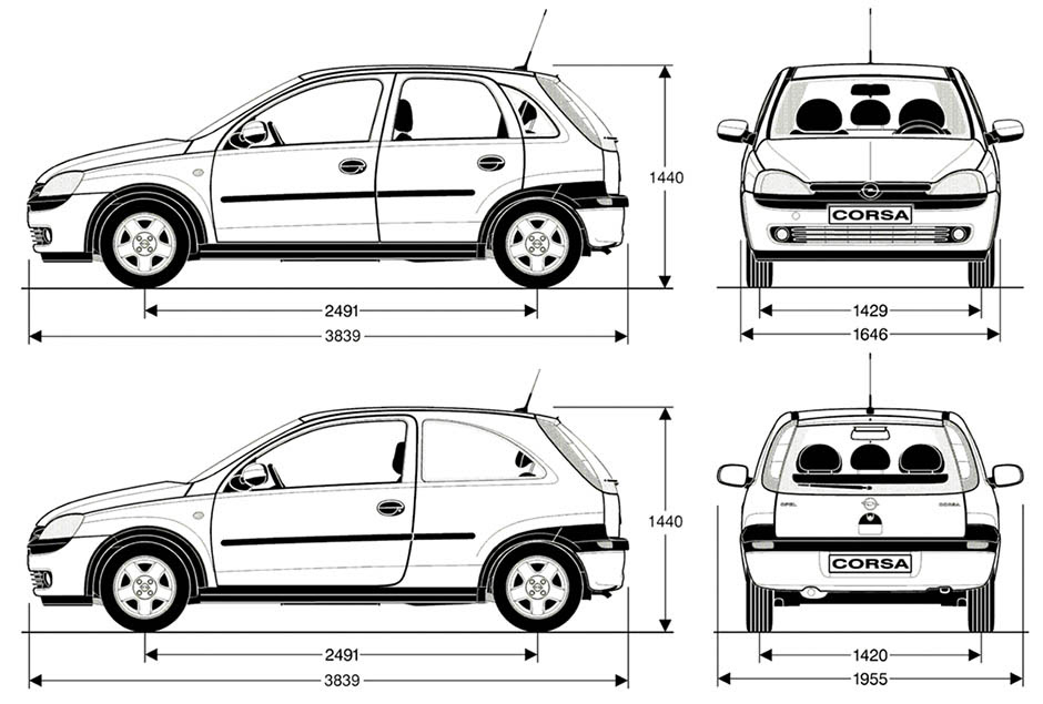 2002 Opel Zafira Fuse Box Diagram