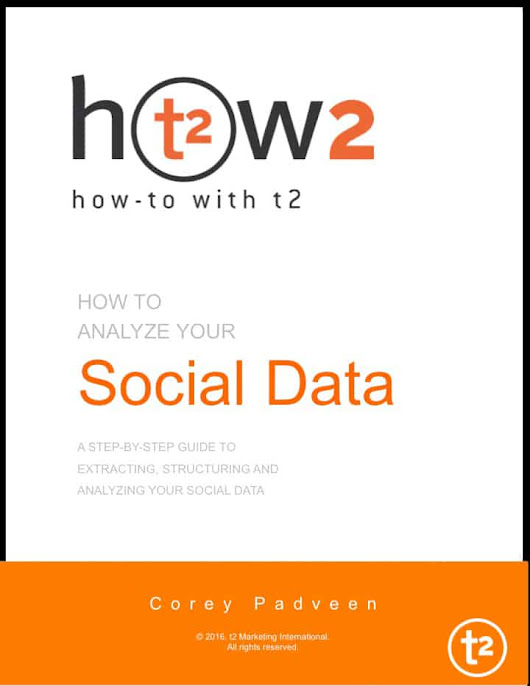 Properly Analyze Your Social Data [eBook] - t2 Marketing International