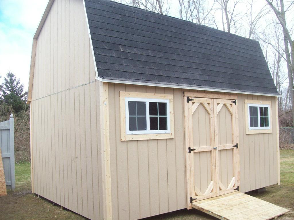 Best way: 12x16 shed